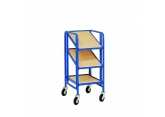 Trolley for bins Europe 3 adjustable levels PROVOST