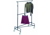 Mobile clothes rack 2 adjustable levels PROVOST