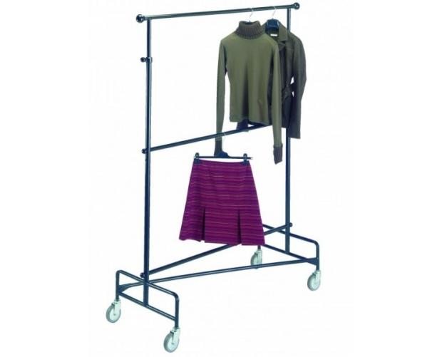 Mobile clothes rack 2 adjustable levels | Provost