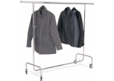Chrome-plated mobile clothes rack 1 adjustable level PROVOST