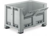 Pallet crate 4 legs folding 1/2 door PROVOST