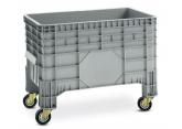 Pallet crate 4 casters 285 L PROVOST