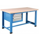 Industrial workbench with compartment with 3 drawers PROVOST