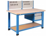 Workbench with 2 drawer compartment + tool rack