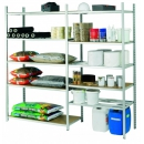 Tubular galvanised shelving PROVOST