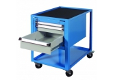 Workshop trolley 2 levels 1 compartment 3 drawers PROVOST