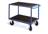 Workshop trolley 2 levels rubber PROVOST