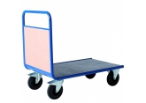 Promax trolley with 1 wooden back