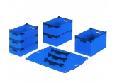 Polypropylene eco stackable crates P 485 x H 135 PROVOST