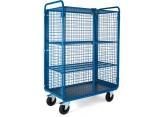 Promax trolley 2 levels mesh + door PROVOST