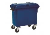 Rolling waste bin 4 wheels 770 L PROVOST