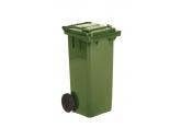 Rolling waste bin 2 wheels 80 L PROVOST
