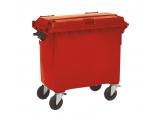 Rolling waste bin 4 wheels 1000 L PROVOST