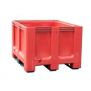 Pallet crate red for selective sorting PROVOST