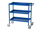 Workshop trolley blue 3 levels 150 kg PROVOST