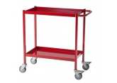 Workshop trolley red 2 levels 150 kg PROVOST