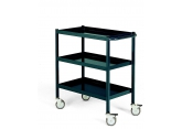 Workshop trolley grey 3 levels 150 kg PROVOST