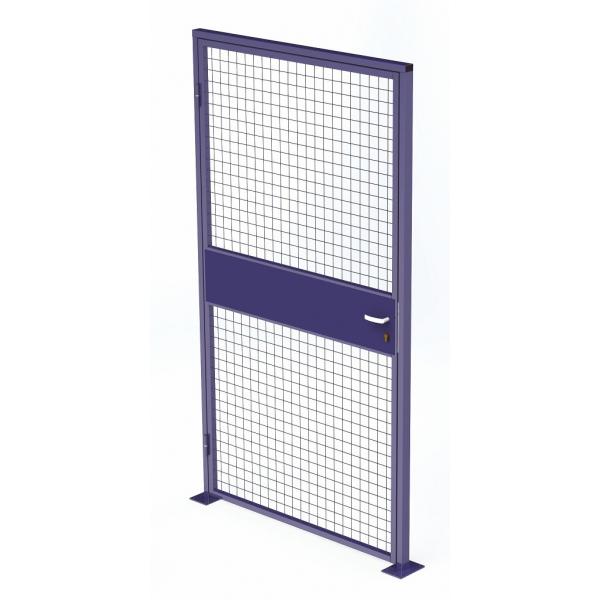 Swinging door for workshop partition  sc 1 st  Provost Racking & industrial partition