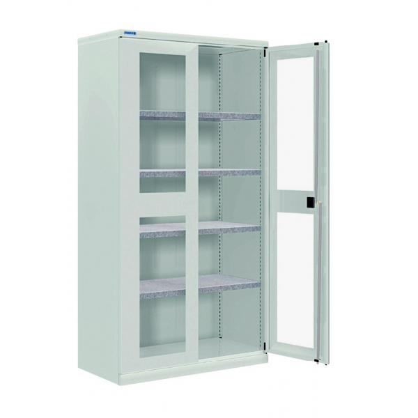 cupboard glazed swinging doors depth 400 mm