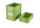 Odette Galia stackable crate green 600 x 400 mm PROVOST