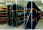 Prorack + mid-weight shelving for tyres PROVOST