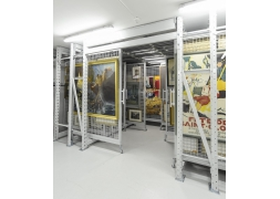 Pro Art extractable - Storage grids for paintings PROVOST