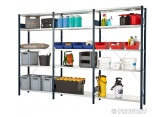 prospace sheet metal shelves  PROVOST