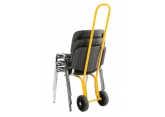 Height adjustable chair trolley PROVOST