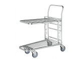 Trolley with height adjustable shelf PROVOST