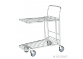 Trolley with folding shelf PROVOST