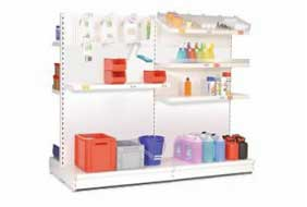Commercial shelving PROVOST