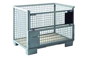 Metal pallet box PROVOST