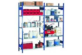 Steel shelving PROVOST