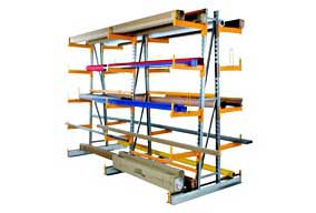 Shelving for long loads PROVOST