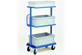 Storage bin trolleys PROVOST