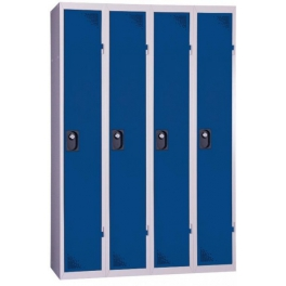 One-piece clean industrial locker PROVOST