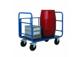 Promax trolley with 3 tubular sides. PROVOST