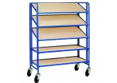 Trolley for bins Europe 5 adjustable levels PROVOST