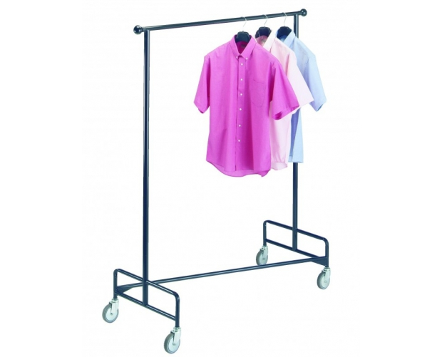 Mobile clothes rack 1 fixed level PROVOST
