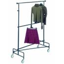 Mobile clothes rack 2 adjustable levels PROVOST