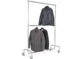 Tertiary clothes rack 2 adjustable levels PROVOST