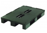 Plastic pallet for heavy load 3 base deck boards PROVOST
