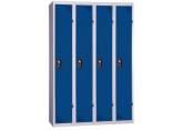 One-piece clean industrial locker PROVOST