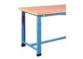 Adjustable industrial workbench
