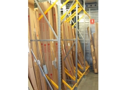 Prorack + vertical storage with dividers PROVOST