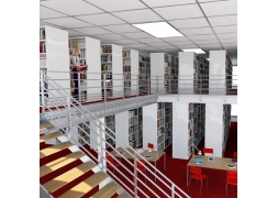 Library and media library shelving PROVOST