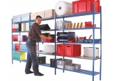 Protub metal shelving depth 300 PROVOST