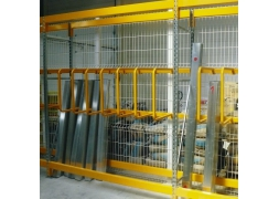 Propal vertical storage for long loads PROVOST