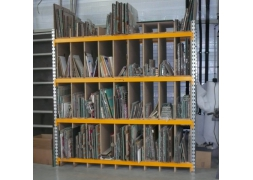 Prorack+ with compartments for long loads PROVOST