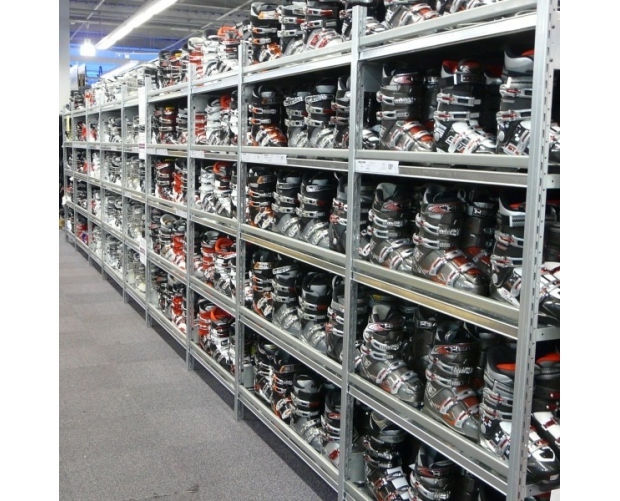 Commercial shelving solution